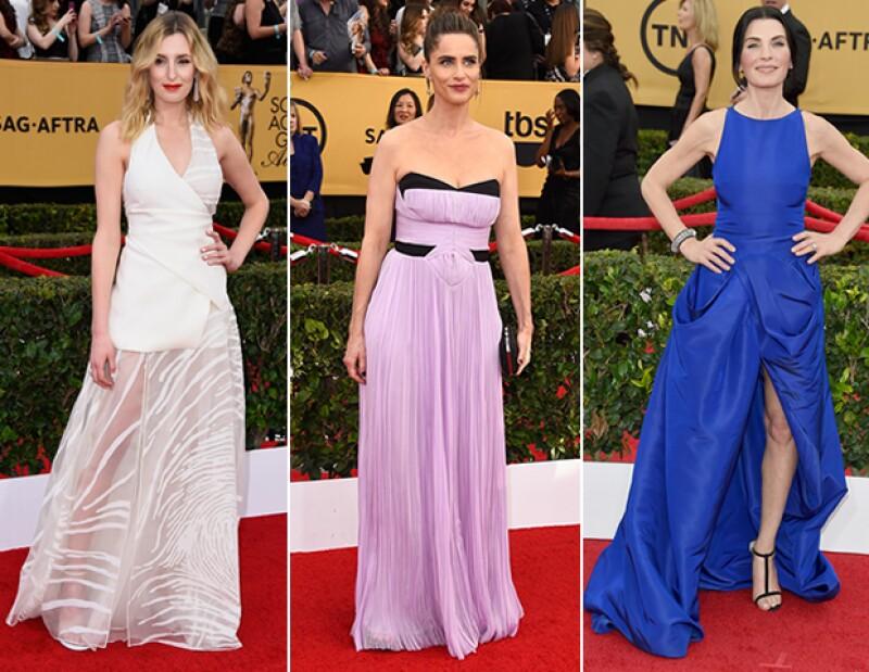 Las peor vestidas de los SAG Awards