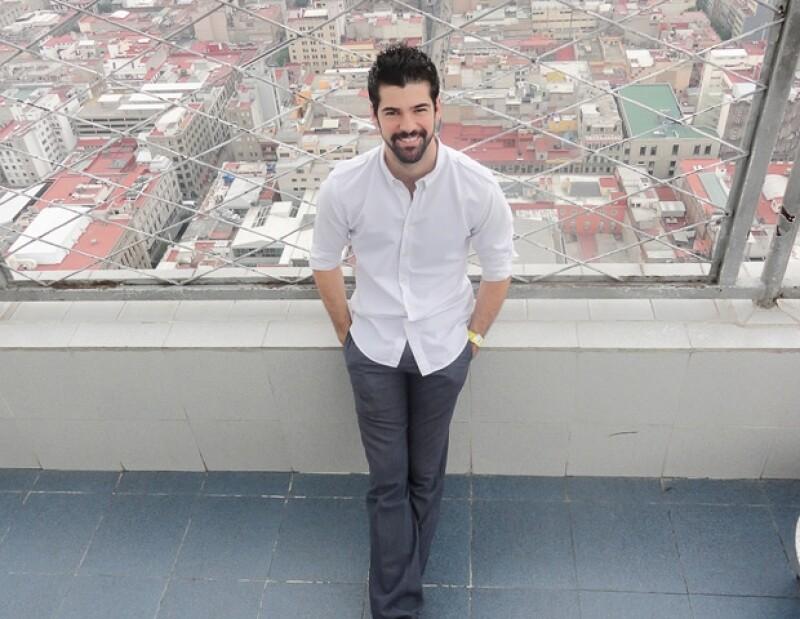 """Miguel Ángel Muñoz es protagonista de la serie de """"Infames"""", producción de Epigmenio Ibarra, que se transmite de lunes a viernes, por Cadena 3."""