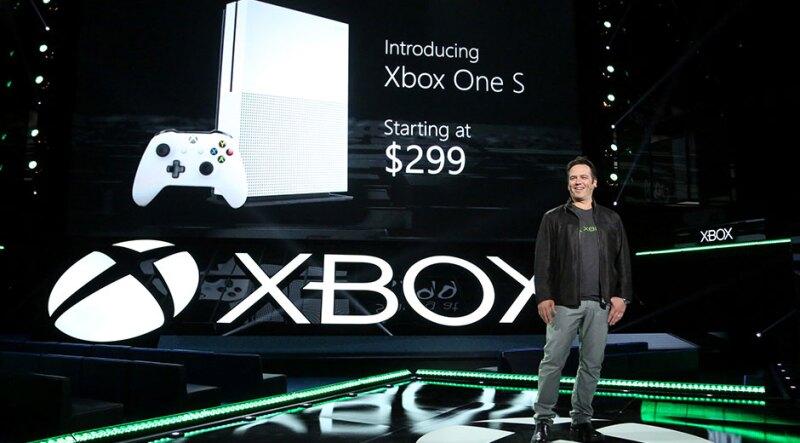 Microsoft presenta su nueva consola de videojuegos Xbox One S