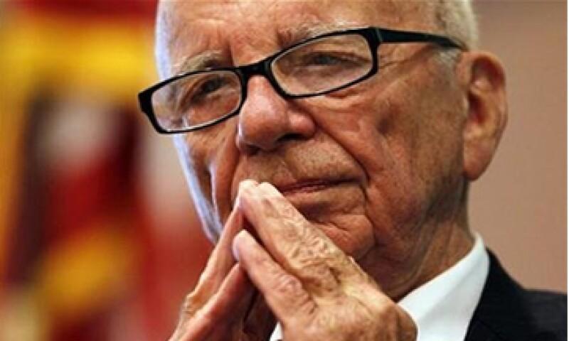 La presentación se produce días antes de la división de News Corp en dos compañías, de las que Murdoch será presidente. (Foto: Reuters)