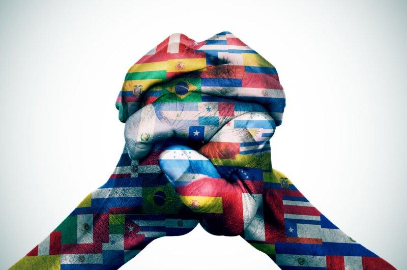 bandera  america latina