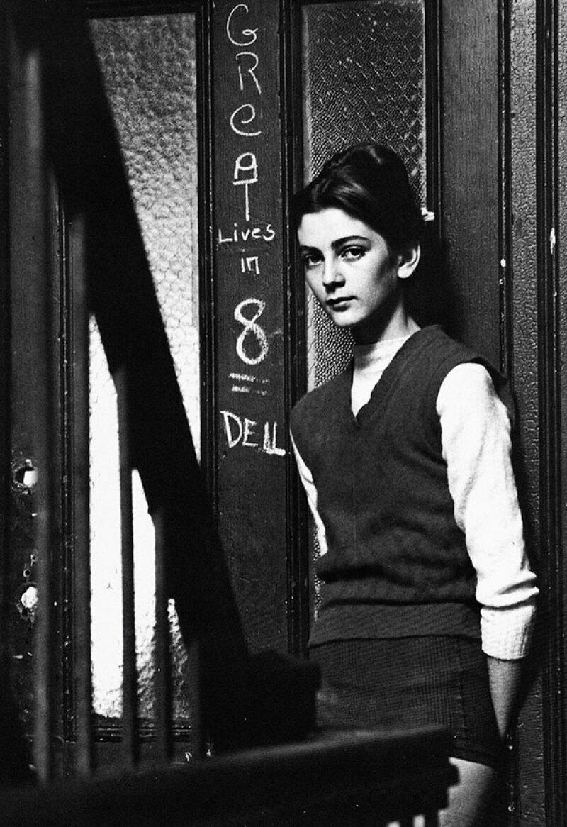 Carmen fue una niña enferma pero en 1946 ya era modelo.