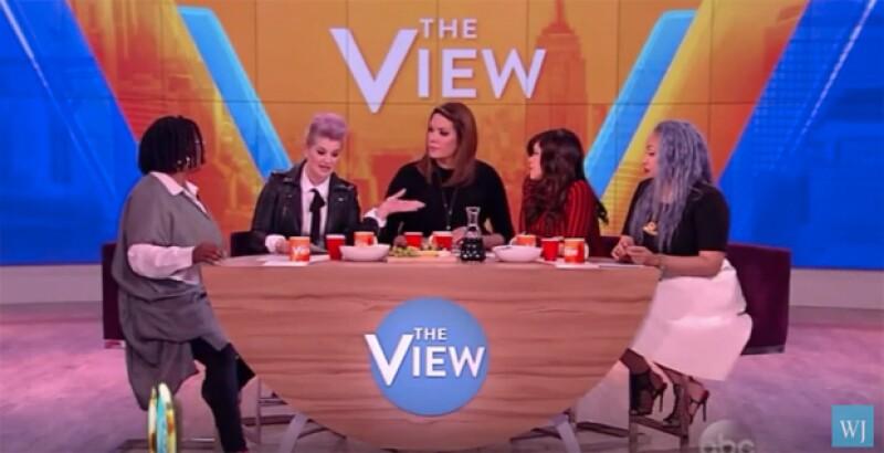Kelly Osbourne se disculpó en su cuenta de Instagram por el comentario sobre los latinos que realizó en el programa The View.