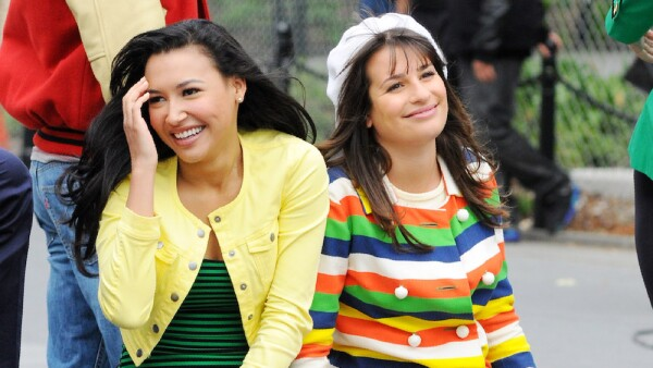 'Glee' TV programme on set filming, New York, America - 29 Apr 2011