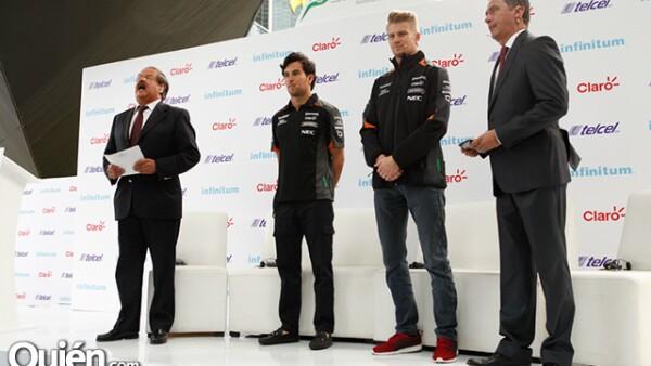 Marco Tolama,Checo Pérez,Nico Hulkenberg,Luis Manuel López