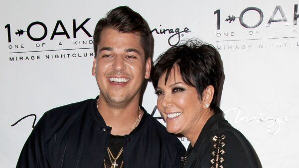 Rob Kardashian y Kris Jenner ahora venderán calcetines navideños