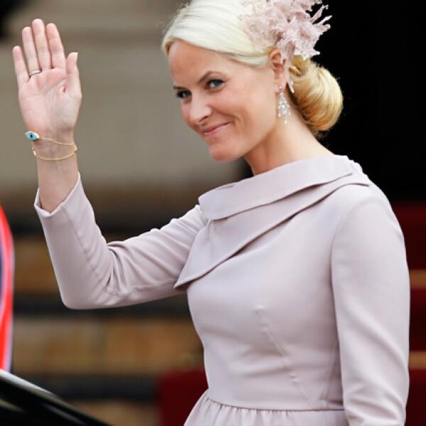 La princesa Mette Marit de Noruega.
