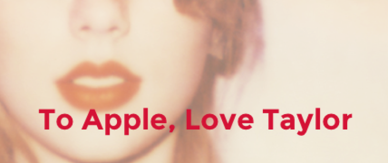 La cantante envió una carta mediante su Tumblr a Apple.
