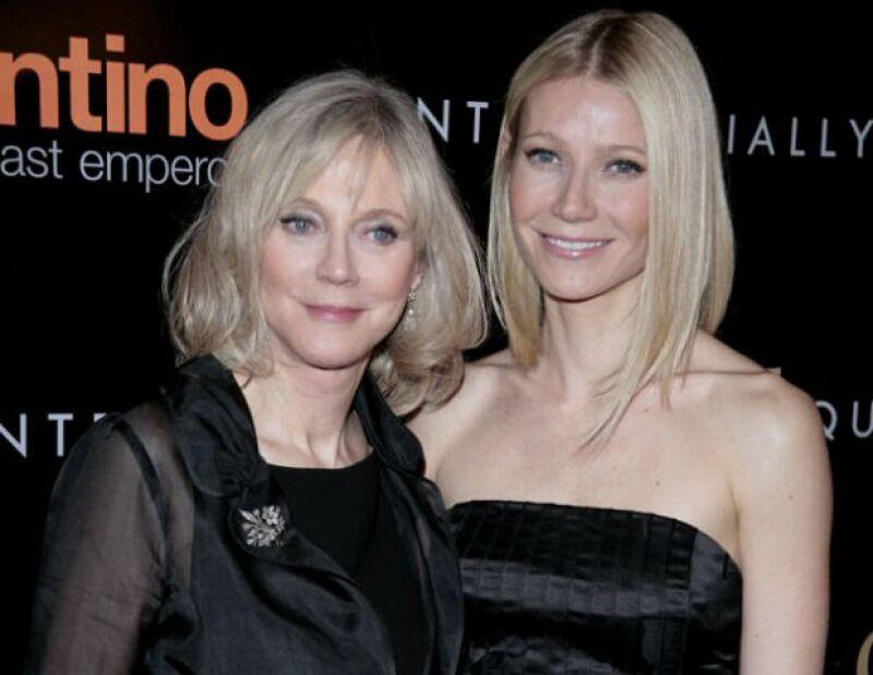 Se dice que la madre de Gwyneth no quería que su hija terminara con Chris Martin.