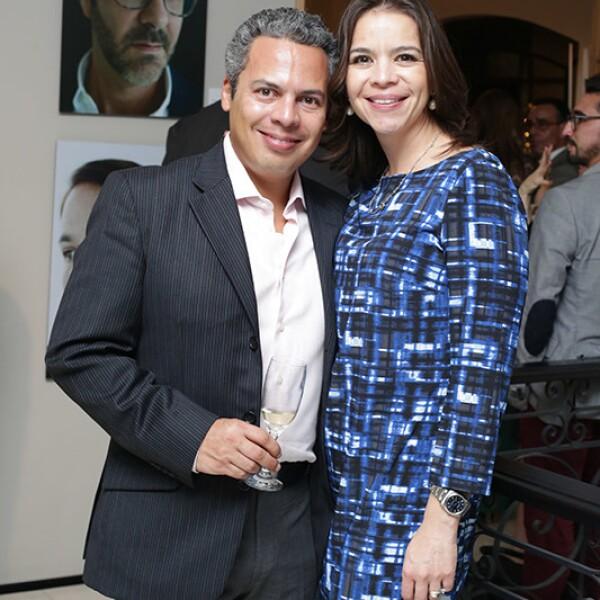 Jorge Velasco y Erika Acosta
