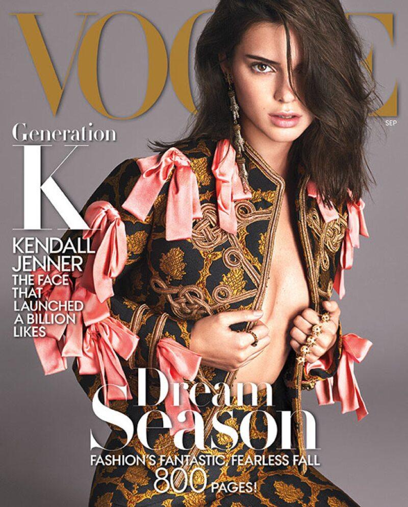 Con la portada de septiembre de Vogue, la hermana de las Kardashian se consolida como toda una top model y además, su familia le hizo una celebración sorpresa.