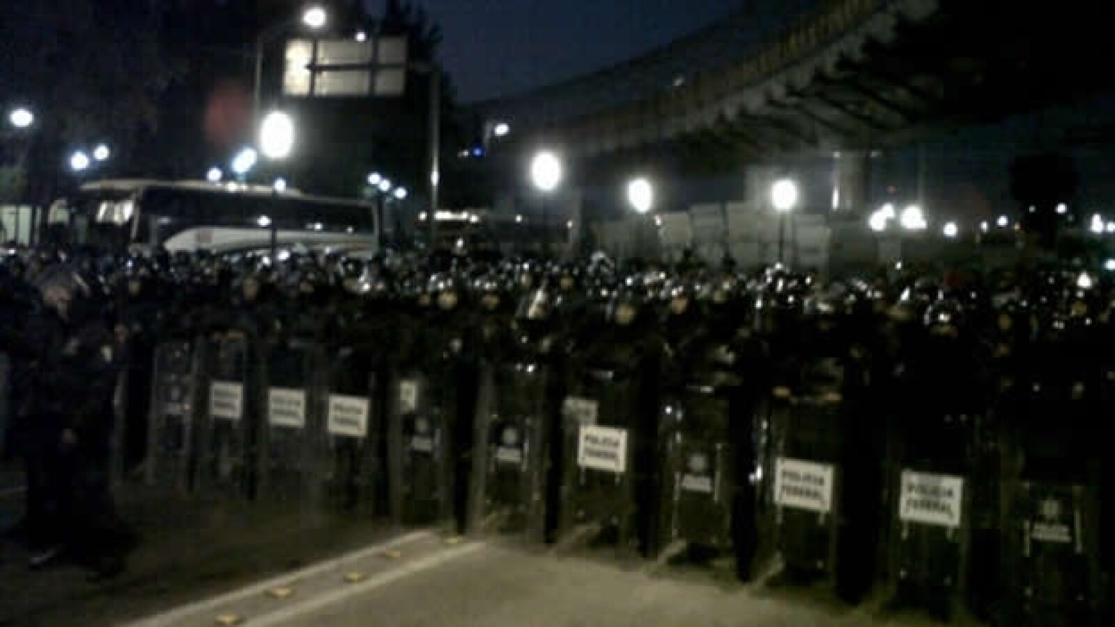 Protestas en san Lázaro