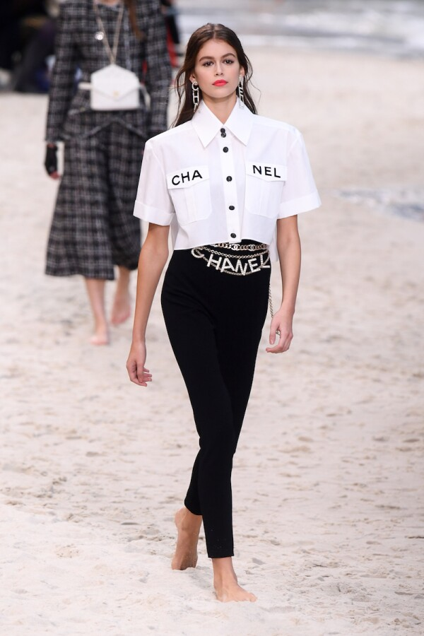 Chanel show, Runway, Spring Summer 2019, Paris Fashion Week, France - 02 Oct 2018