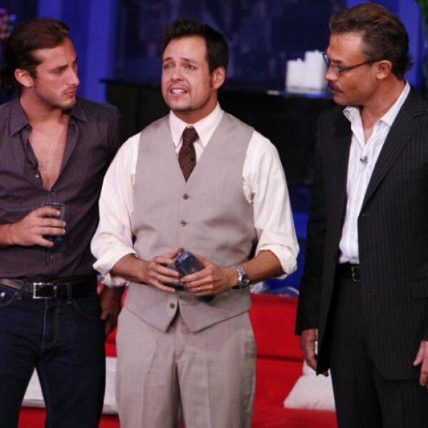 Sebastián Zurtita, Rodrigo Vidal y Sergio Sendel.