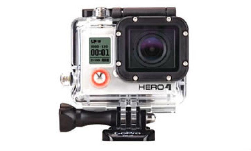 El más reciente modelo de GoPro, Hero 4, ya está  a la venta en México. (Foto: Cortesía GoPro )