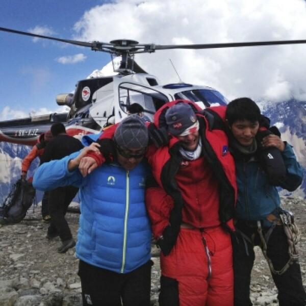 avalancha en nepal rescate