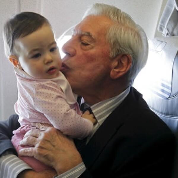mario vargas llosa y su nieta