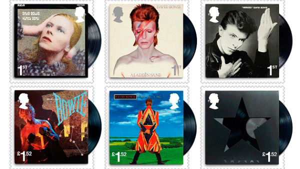 Estampas de David Bowie