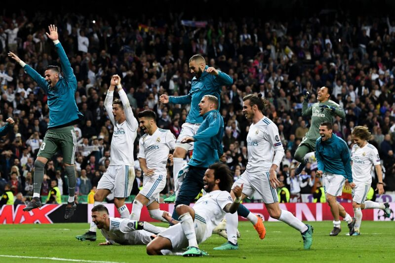 Récords del Real Madrid en Champions League