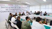 Mesa de seguridad en Chilapa