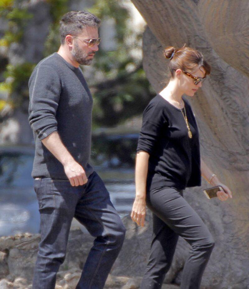 La primera vez que la pareja de actores es vista luego de los rumores de separación.