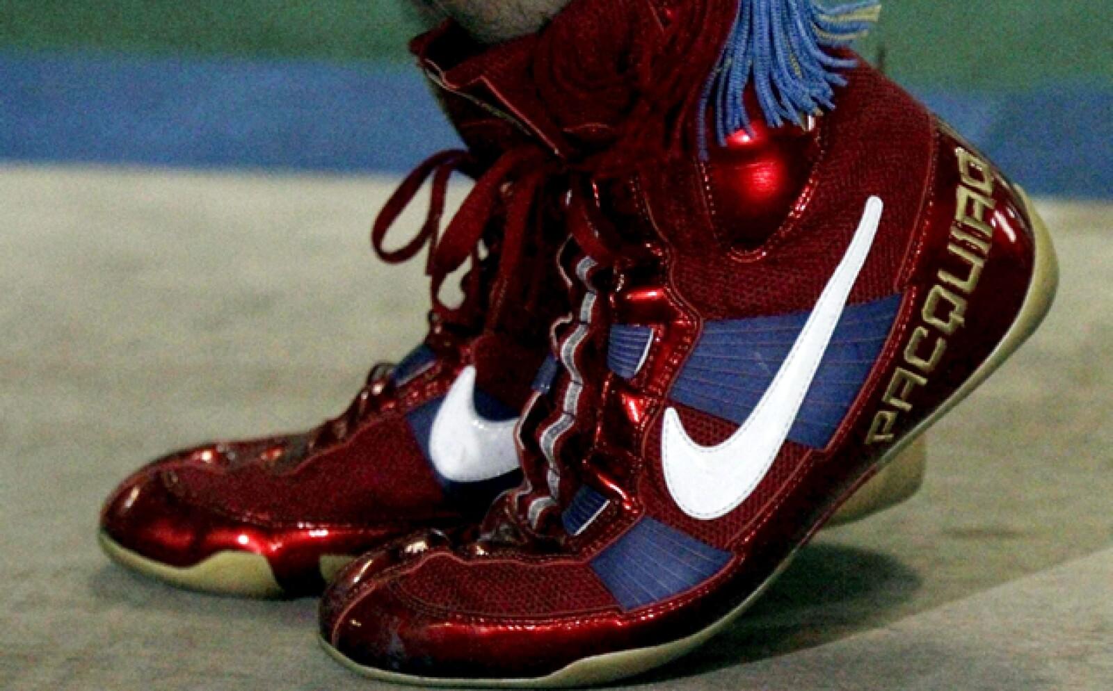 Una disculpa del boxeador filipino por su declaración antigay no bastó para que Nike lo perdonara