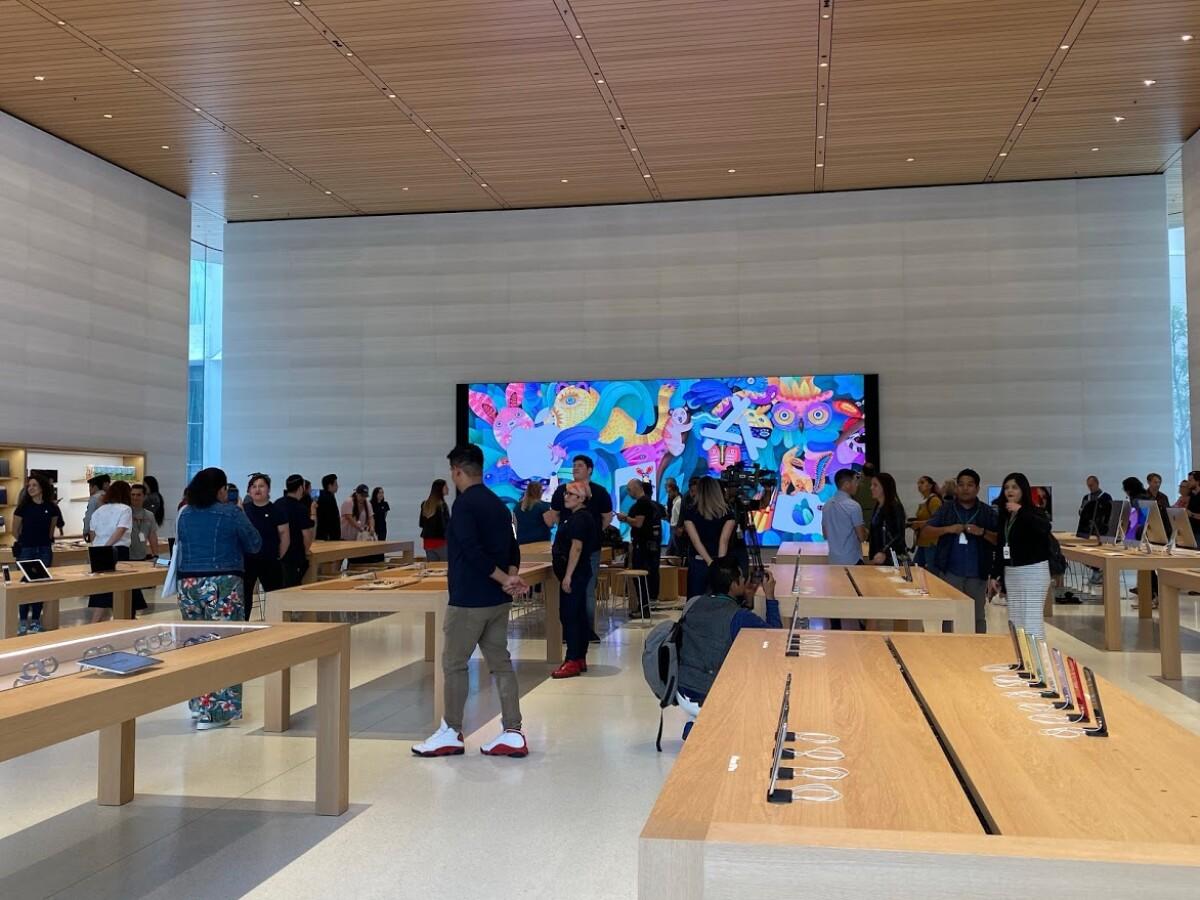 Así es la nueva tienda de Apple en la CDMX