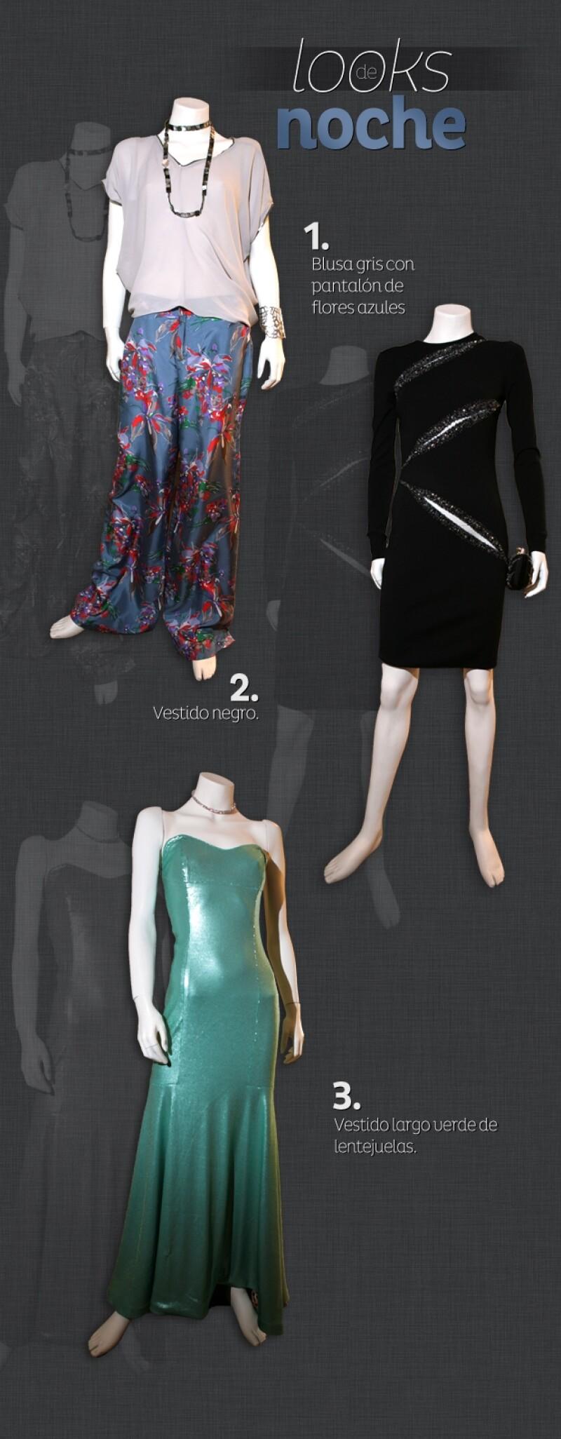 La diseñadora y dueña de la boutique Bloom nos armó varios looks, tanto de día como de noche, para estar al último grito de la moda en primavera.