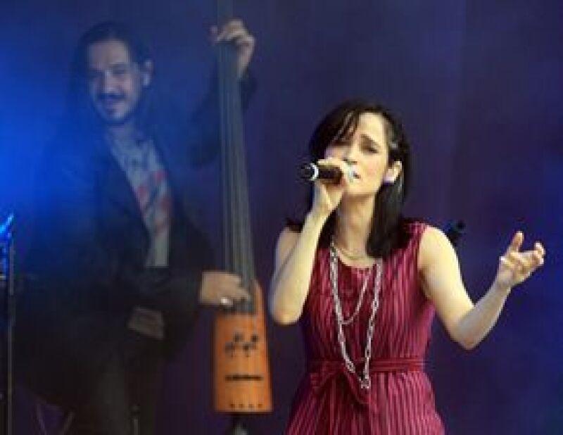 La cantante volvió a encontrarse con su público de la Ciudad de México.
