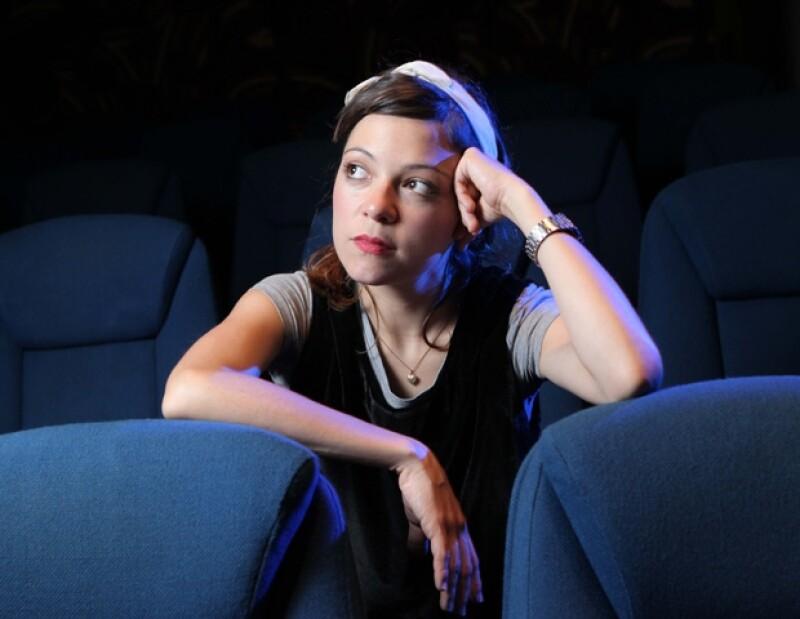 Natalia Lafourcade llegará hoy a los cines de México con su papel en la película El Cielo en Tu Mirada.