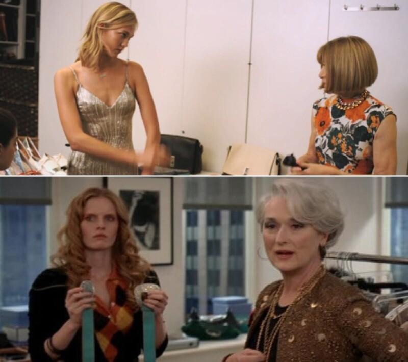 Poco tacto al decir lo que piensan, duras con sus modelos, así son Anna Wintour y Miranda Piestly.