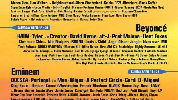 Los Ángeles Azules y otras figuras que estarán en el festival Coachella