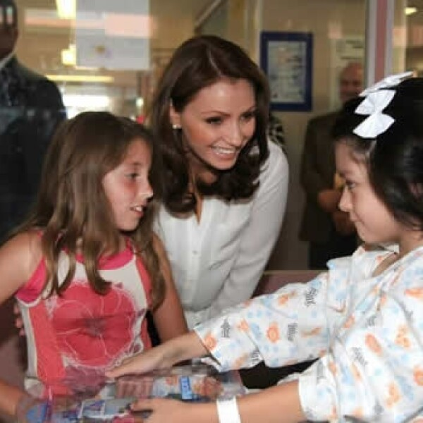 Hospital infatil Angelica rivera familia presidencial