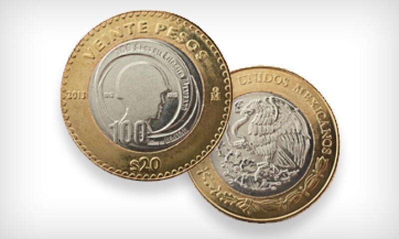La divisa etá compuesta por cobre, níquel y una aleación de bronce y aluminio.  (Foto: Especial)