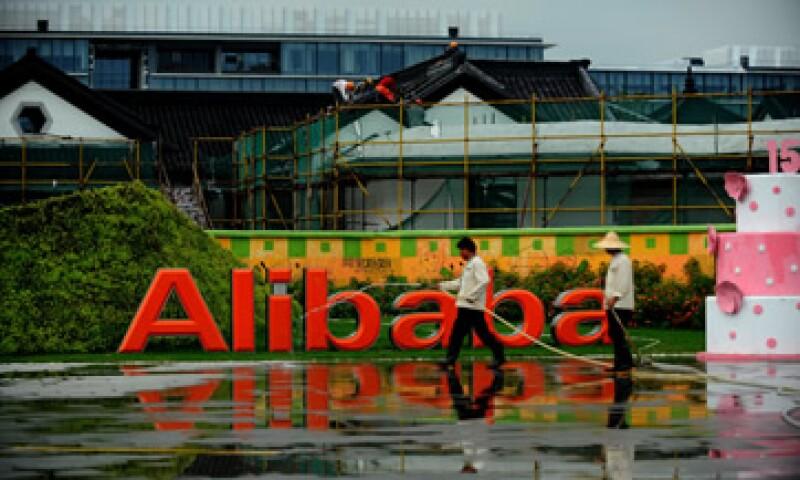 Alibaba podría vender sus acciones a un rango más elevado que el actual de 60 a 66 dólares por título. (Foto: AFP)