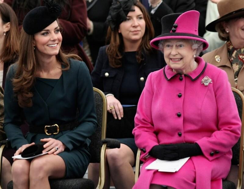 Kate y la reina Isabel II son apasionadas de las imágenes y lo han demostrado.