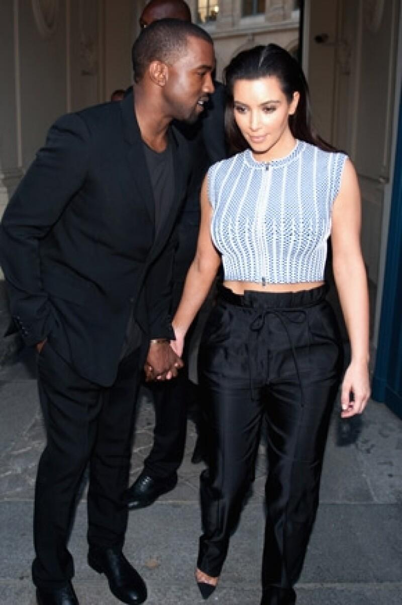 Kim tratará de continuar su relación con algunos paparazzi.
