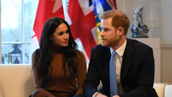 Meghan Makle y el príncipe Harry