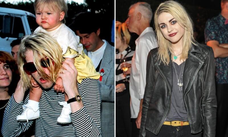 Frances Bean Cobain reveló durante una entrevista la presión que tuvo Kurt al convertirse súbitamente en una celebridad, lo cual lo llevó al suicidio.