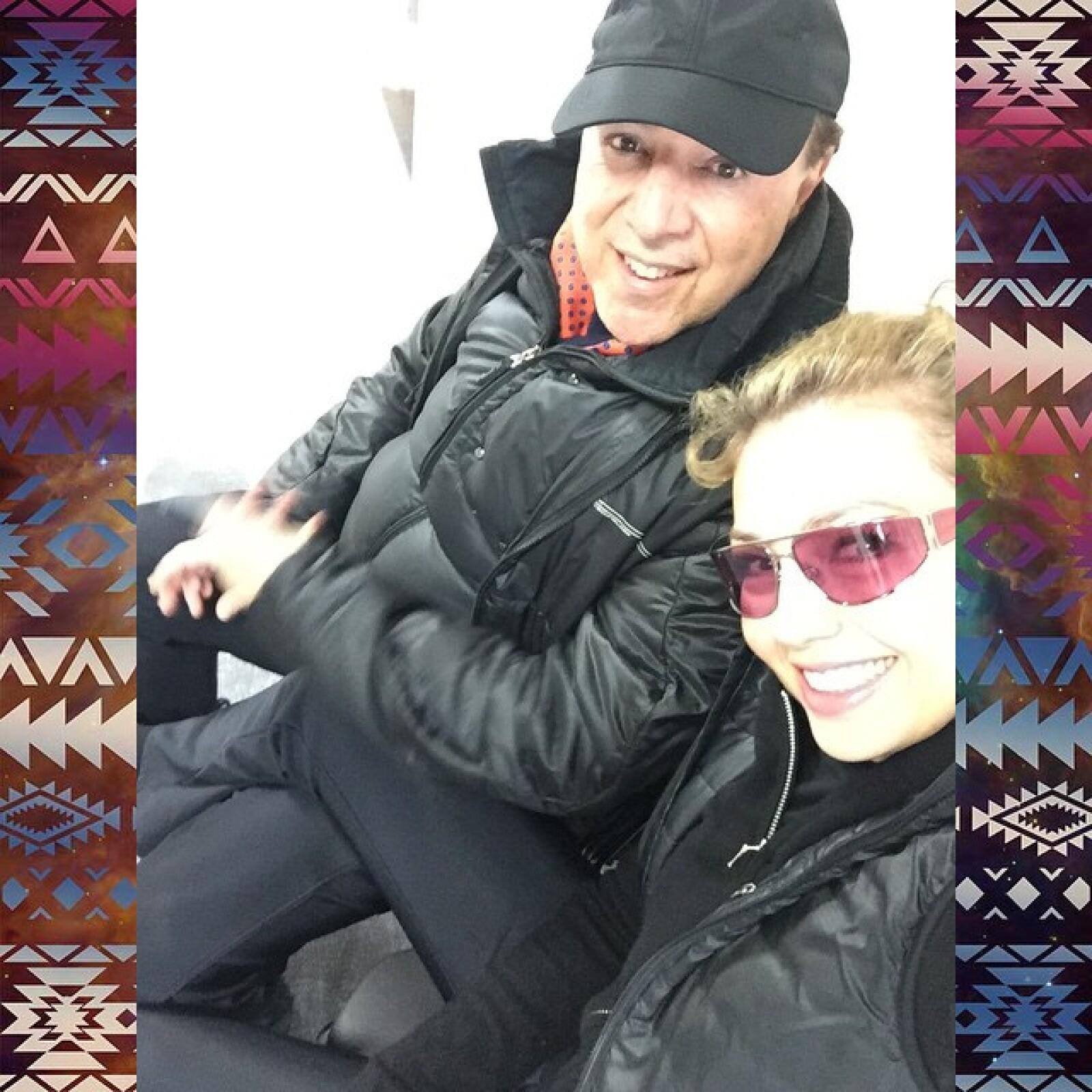 Son pocas las veces que Tommy aparece en el Instagram de Thalía, tomando en cuenta su constante actividad en esta red social de fotos.