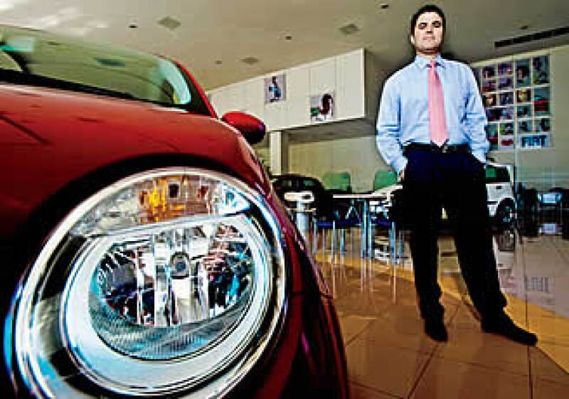 Tras la compra de Chrysler, Jorge Martínez, director del distribuidor de Fiat en México, busca sumar nuevas agencias. (Foto: Selma Fernández)