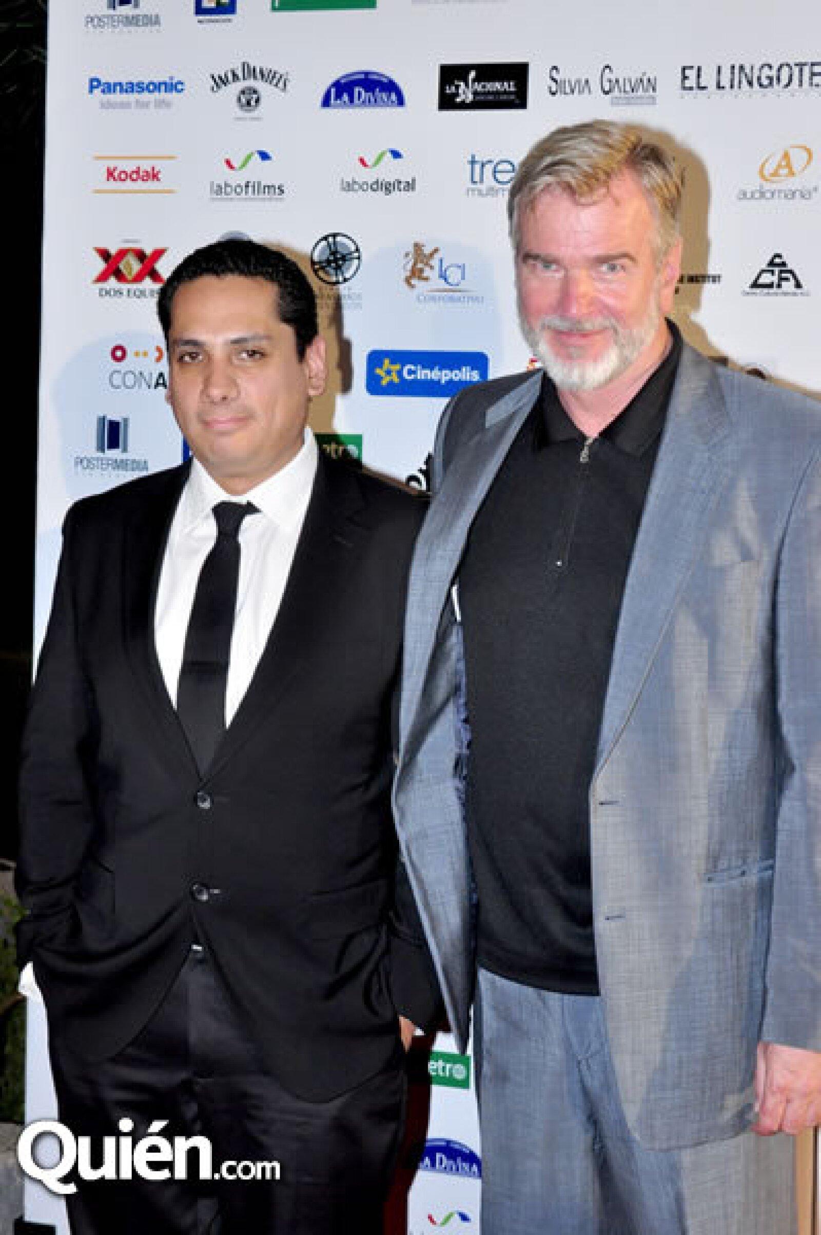 Eduardo Lucatero y Wieland Speck