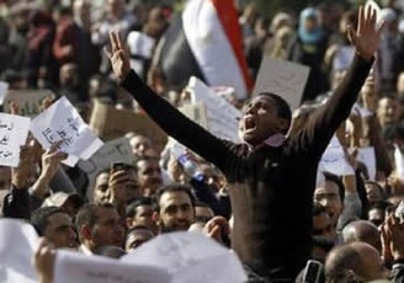 La población en Egipto no ha cesado de protestar en oposición al Gobierno de Hosni Mubarak. (Foto: Reuters)