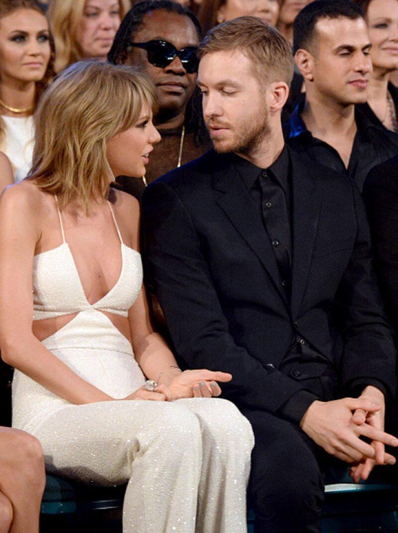 La cantante y su nuevo novio tienen la misma química en el estudio de grabación que en la vida real, por lo que ya están componiendo algún tema.
