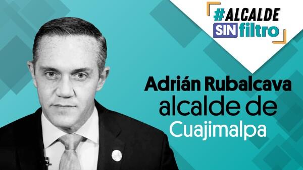 El alcalde de #Cuajimalpa, Adrián Rubalcava en #AlcaldeSinFiltro ⚡| #EnVivo