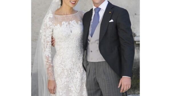 Después de cuatro meses de casados, la pareja real de Luxemburgo, el príncipe Félix y la princesa Claire, están esperando su primer bebé.