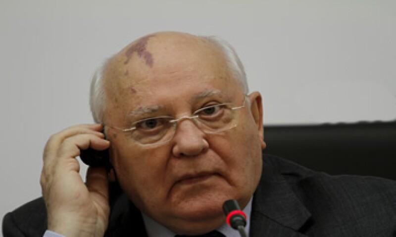 Gorbachov  es ampliamente admirado en Alemania por su rol en la caída del Muro de Berlín. (Foto: AFP )