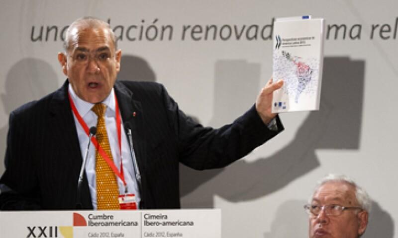 José Ángel Gurría ha dicho que la economía mexicana se ha distinguido porque su posición de deuda externa es positiva. (Foto: AP)