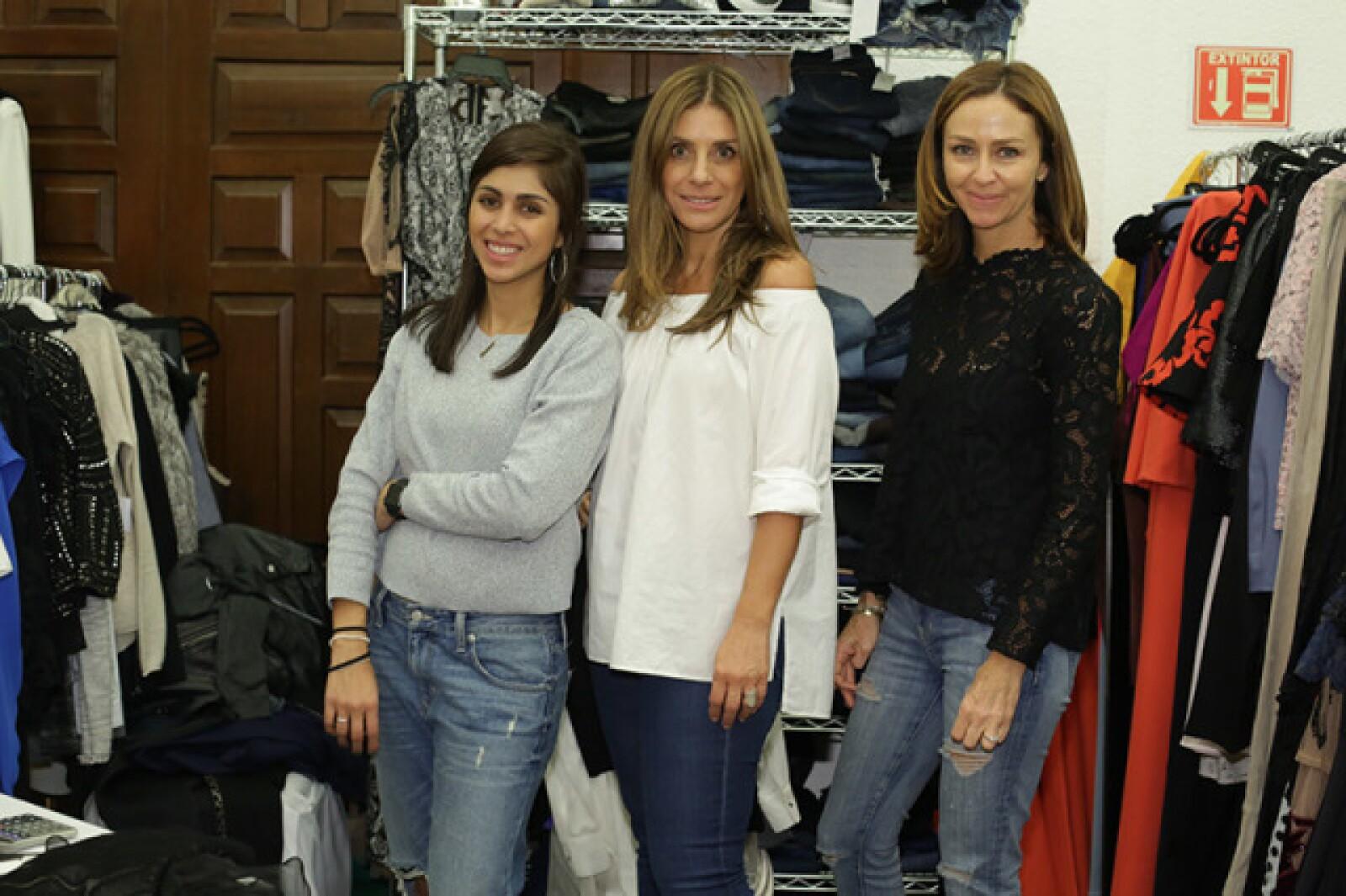 Danielle Sneider,Alexandra Sneider y Fernanda Cantú