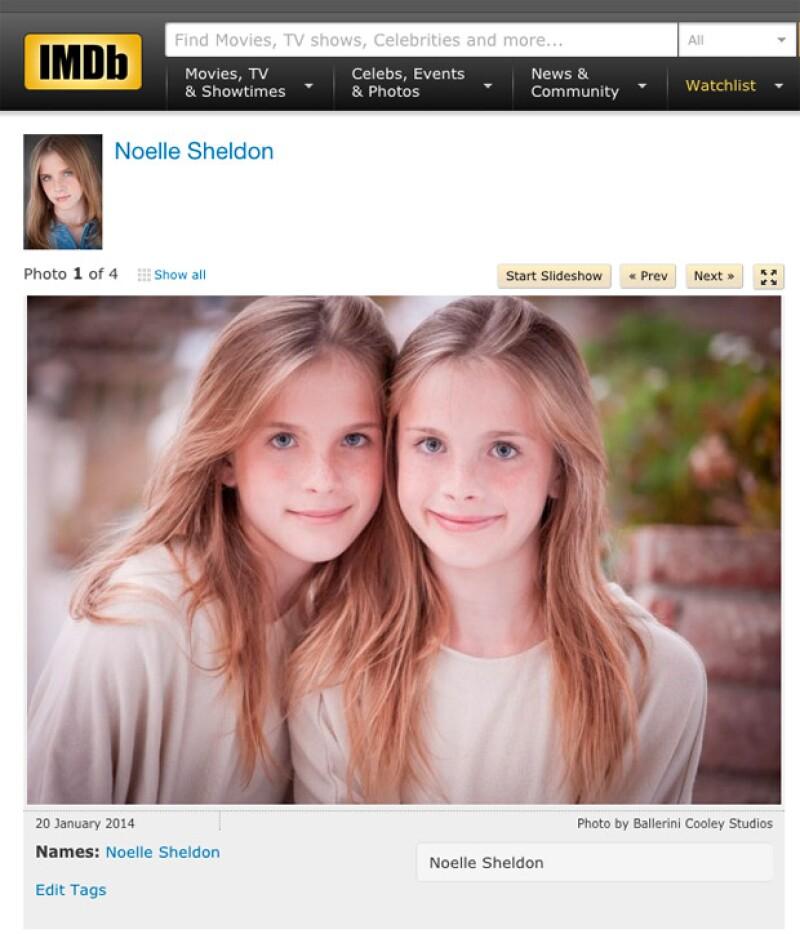 Así es como lucen ahora Noelle y Cali Sheldon, quienes tienen 13 años.
